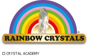 Logo Rainbow crystals copia